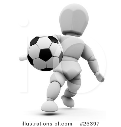 Soccer Clipart #25397 by KJ Pargeter