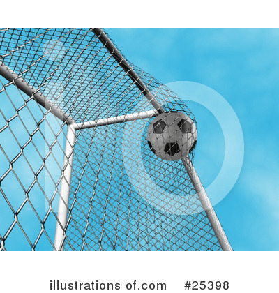 Soccer Clipart #25398 by KJ Pargeter