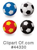 Soccer Clipart #44330 by michaeltravers