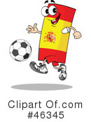 Royalty-Free (RF) Soccer Clipart Illustration #46345