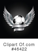 Royalty-Free (RF) Soccer Clipart Illustration #46422