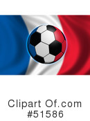 Royalty-Free (RF) Soccer Clipart Illustration #51586