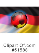 Royalty-Free (RF) Soccer Clipart Illustration #51588