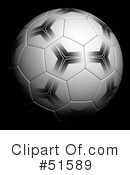 Royalty-Free (RF) Soccer Clipart Illustration #51589
