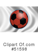 Royalty-Free (RF) Soccer Clipart Illustration #51598