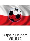 Royalty-Free (RF) Soccer Clipart Illustration #51599