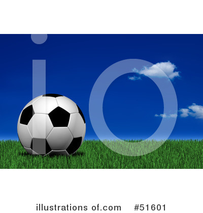 Soccer Clipart #51601 by stockillustrations