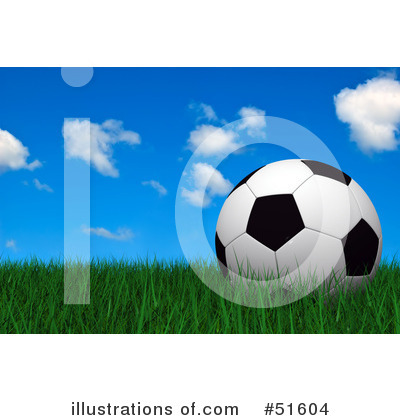 Soccer Clipart #51604 by stockillustrations