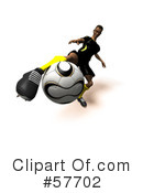 Royalty-Free (RF) soccer Clipart Illustration #57702
