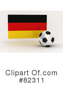 Royalty-Free (RF) Soccer Clipart Illustration #82311