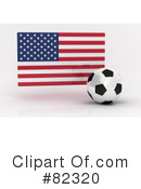 Royalty-Free (RF) Soccer Clipart Illustration #82320