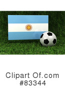 Royalty-Free (RF) Soccer Clipart Illustration #83344