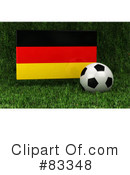 Royalty-Free (RF) Soccer Clipart Illustration #83348