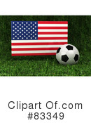Royalty-Free (RF) Soccer Clipart Illustration #83349