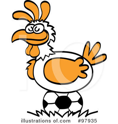 Chicken Clipart #97935 by Zooco
