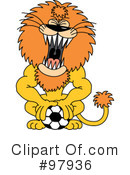 Royalty-Free (RF) Soccer Clipart Illustration #97936
