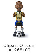Soccer Player Clipart #1268109 by Julos