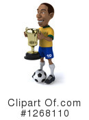 Soccer Player Clipart #1268110 by Julos