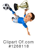 Soccer Player Clipart #1268118 by Julos