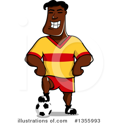 Soccer Clipart #1355993 by Vector Tradition SM
