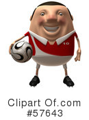 Royalty-Free (RF) Soccer Steve Clipart Illustration #57643