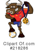 Royalty-Free (RF) Soccer World Cup Clipart Illustration #218286