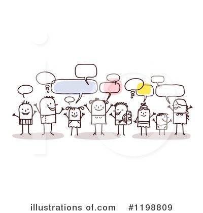 Social Networking Clipart #1198809 by NL shop