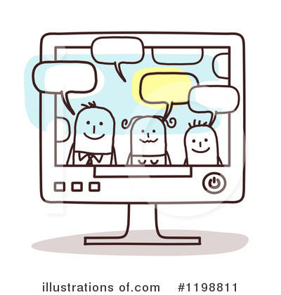 Computer Screen Clipart #1198811 by NL shop