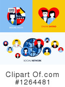 Social Networking Clipart #1264481 by elena