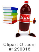 Soda Bottle Character Clipart #1290316 by Julos