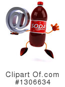 Soda Bottle Character Clipart #1306634 by Julos