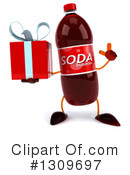 Soda Bottle Character Clipart #1309697 by Julos