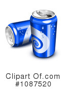 Soda Cans Clipart #1087520 by Oligo