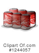 Royalty-Free (RF) Soda Clipart Illustration #1244057