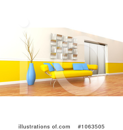 Interior Clipart #1063505 by KJ Pargeter
