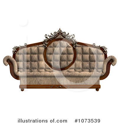 Furniture Clipart #1073539 by Ralf61