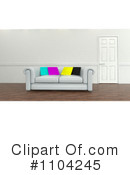 Sofa Clipart #1104245 by KJ Pargeter
