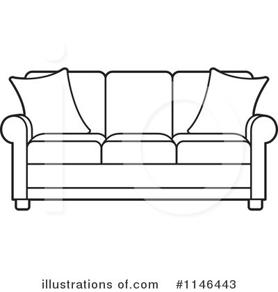 Royalty-Free (RF) Sofa Clipart Illustration by Lal Perera - Stock ...