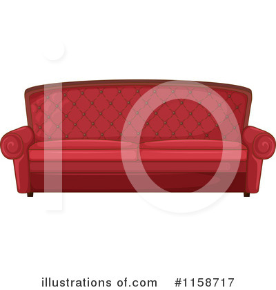 Furniture Clipart #1158717 by Graphics RF