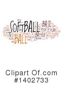 Softball Clipart #1402733 by MacX