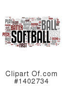 Softball Clipart #1402734 by MacX