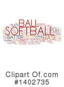 Softball Clipart #1402735 by MacX