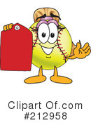 Softball Mascot Clipart #212958 by Toons4Biz