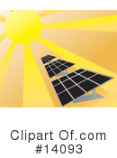 Royalty-Free (RF) Solar Clipart Illustration #14093