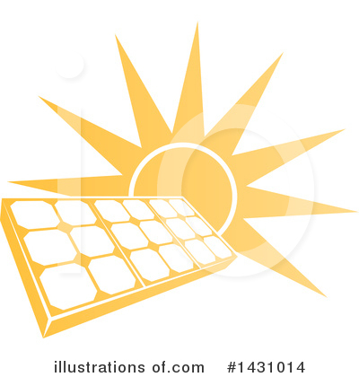 Solar Energy Clipart #1431014 by AtStockIllustration