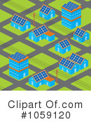 Royalty-Free (RF) Solar Energy Clipart Illustration #1059120