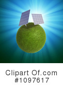 Royalty-Free (RF) Solar Energy Clipart Illustration #1097617