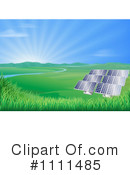 Royalty-Free (RF) Solar Energy Clipart Illustration #1111485