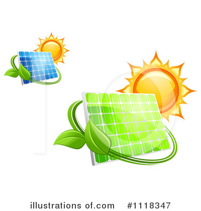 Solar Panel Clipart #1118347 by Vector Tradition SM