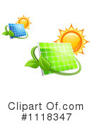 Royalty-Free (RF) solar energy Clipart Illustration #1118347